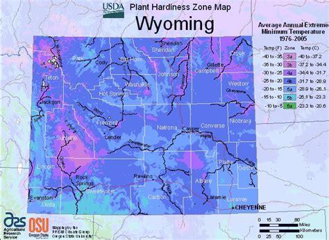 Gardening Zones Colorado Wyoming Planting Zone Map Small Gardening
