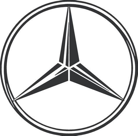 Mercedes Aufkleber by Mercedes Logo Vinyl Decal Sticker Ebay