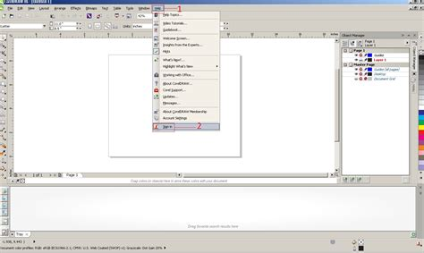 corel draw x6 questions how to sign in in coreldraw x6 1 knowledge base