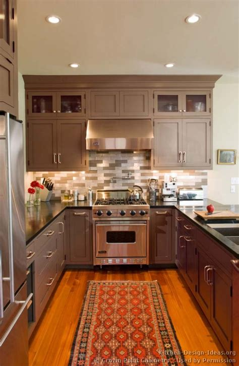 transitional style kitchen kitchen cabinets traditional medium wood cherry color 089