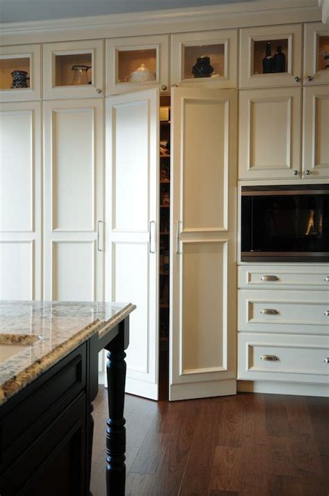 kitchen pantry doors ideas standardpaint gorgeous kitchen with floor to ceiling