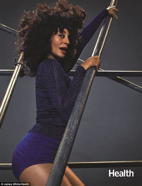 tracee ellis ross jeans tracee ellis ross wows in skintight sportswear for health