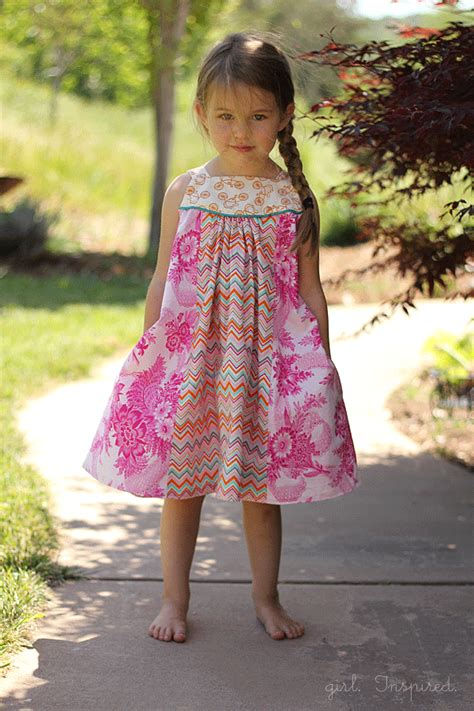 pattern dress free girl dress pattern archives girl inspired