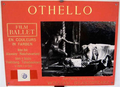 themes of othello pdf quot othello quot movie poster quot the ballet of othello quot movie poster