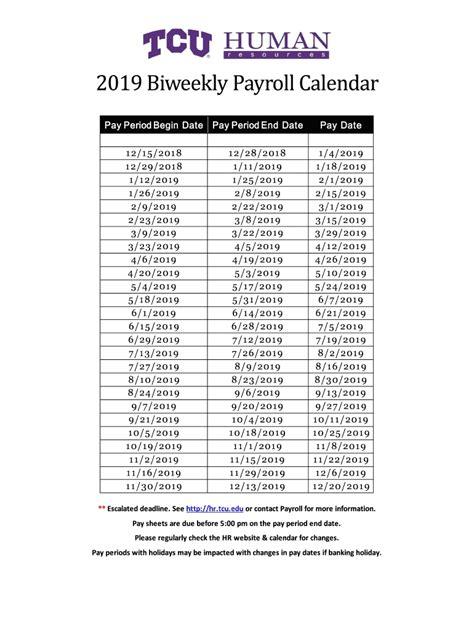 biweekly payroll calendar  template calendar template printable