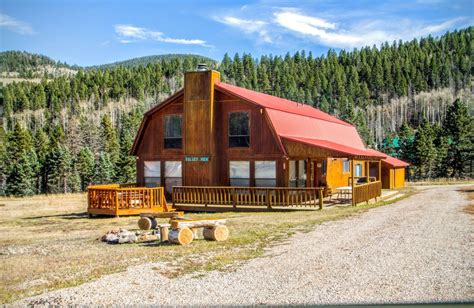 River Nm Cabin Rentals by Valley View Large Valley Lodge Vrbo