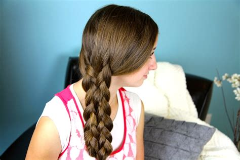 easy hairstyles with two braids lace up braid easy braid hairstyles cute girls hairstyles