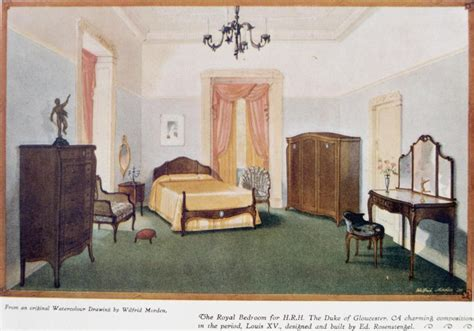 Furniture For H R H The Duke Of Gloucester Built By Ed R Bedroom Furniture Toowoomba