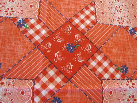 Patchwork Fabric - patchwork fabric 1970 s fabric patchwork fabric