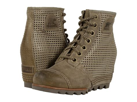 sorel 1964 premium wedge shale womens cold weather