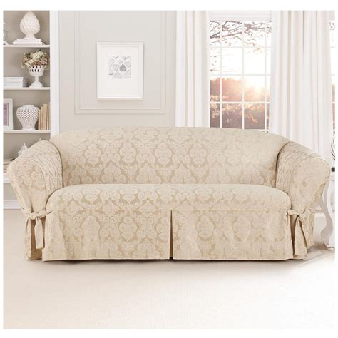 fitted sofa slipcovers sure fit 174 middleton sofa slipcover 581237 furniture