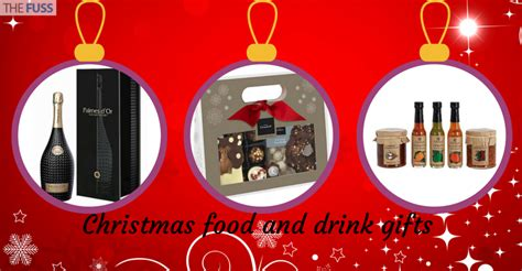 christmas food and drink gifts the fuss