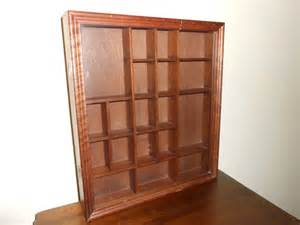 Curio Cabinets And Display Cases Vintage Wall Curio Cabinet Or Display By Lindastaytonshop