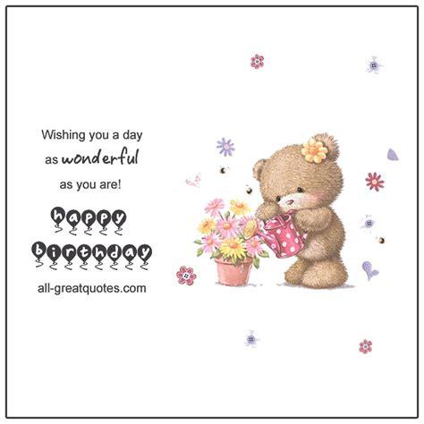 Happy Birthday E Card Free