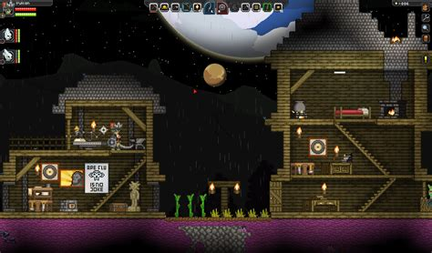 starbound houses building ship show off your house d chucklefish forums