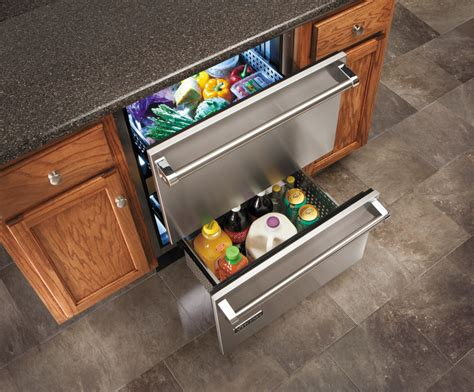 Viking Refrigerator Drawers by Viking Vrdi5240dss 24 Inch Undercounter Drawer