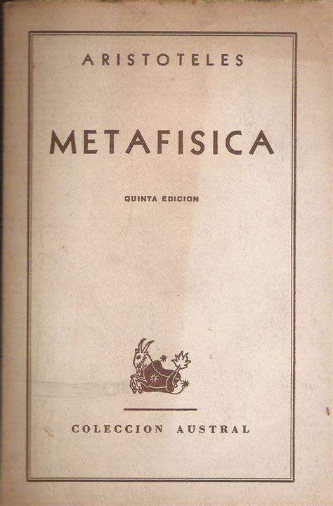 libro para leer la metafsica 191 qu 233 es la metaf 237 sica la fonda filos 243 fica