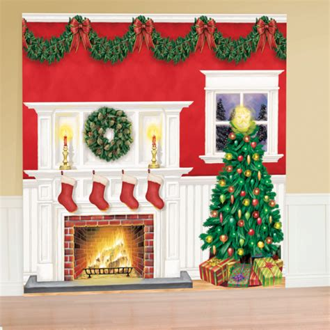 christmas scene setters 4 pkg 6 amscan international