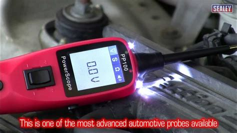 Sealey PP100 Automotive Test Probe & Scope   YouTube