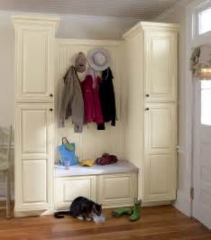 Entryway Cabinet How To Make A Mudroom Bench Using Kitchen Cabinets