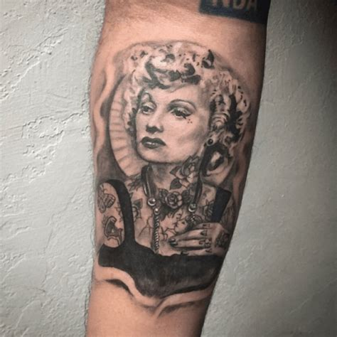 lucille ball tattoo if only lucille had ink done by rigo inked