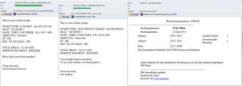 Reservation Letter Block Courrier Ind 233 Sirable Et Phishing Au 3e Trimestre 2014 Securelist