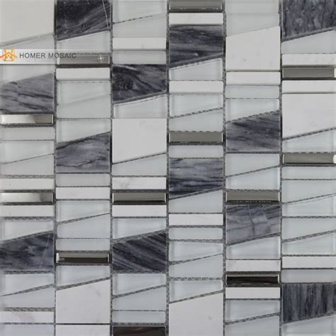 unique tile free shipping unique design wall mosaic tiles glass marble