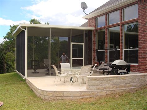 lone patio motorized screens screened rooms college station tx