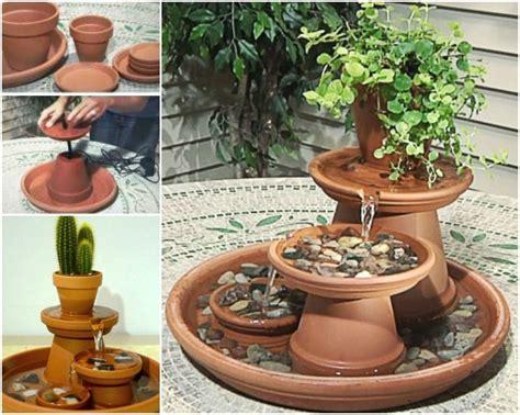 water fountain designs creative ideas diy terracotta pot fountain diy garden