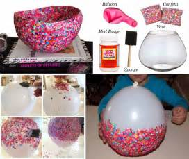diy craft project confetti bowls find fun art projects to do at home and arts and crafts