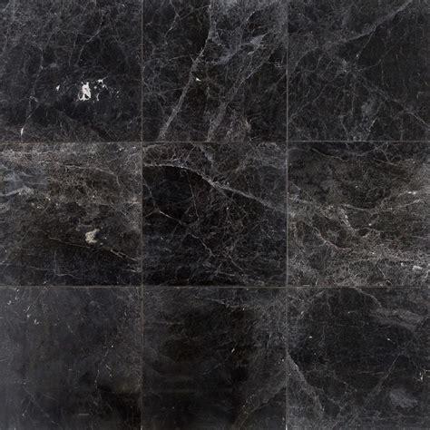 """FREE Samples: Troya Marble Tile Sirius Black / 18""""x18"""