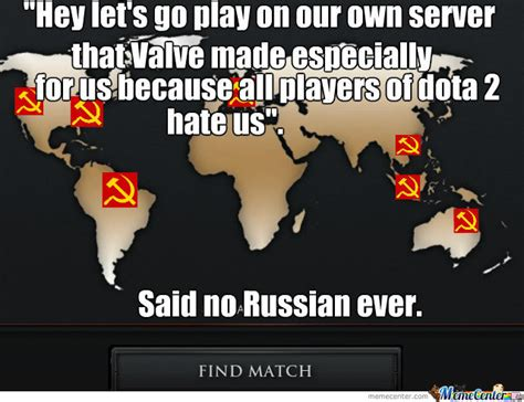 russians in dota 2 by duujaa meme center