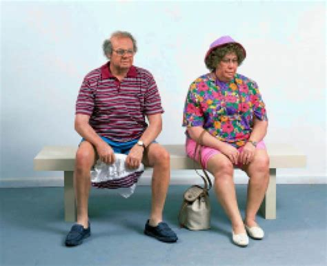 duane hanson man on a bench duane hanson old couple on a bench contemporary art