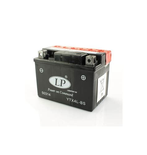 Batterie Moto 12v 6315 by Batterie Moto 12v 3ah Sans Entretien Ytx4l Bs Gtx4l Bs