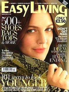 Drew Barrymore On March Cover Of by Favorite Fashion Magazine Covers On