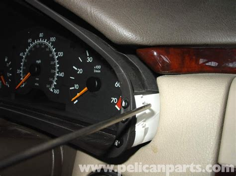 mercedes benz  instrument cluster bulb replacement