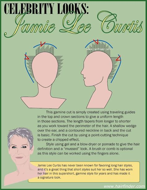 jamie lee curtis hairstyle instructions 235 best short gray hair images on pinterest