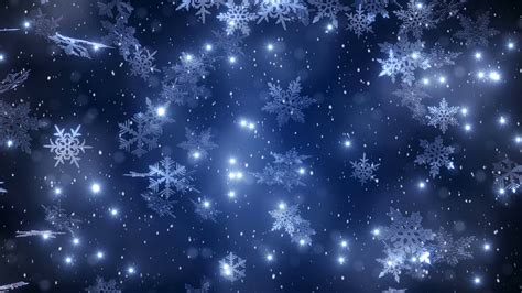 Snow Is Falling background with snowflakes falling snow motion