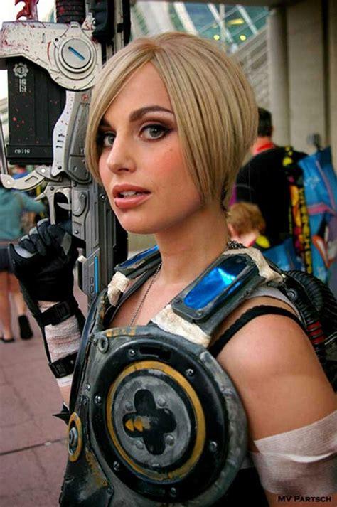 sexy anya stroud cosplay  gears  war cosplay