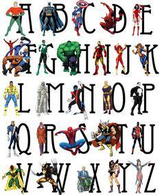 printable superhero alphabet flashcards 1000 ideas about superhero alphabet on pinterest
