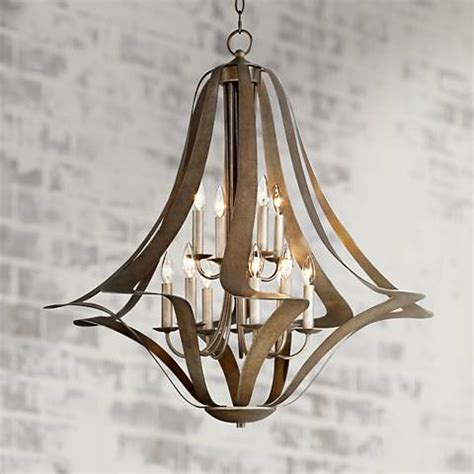 possini lighting possini corinthian twist 12 light large chandelier t5022 ls plus