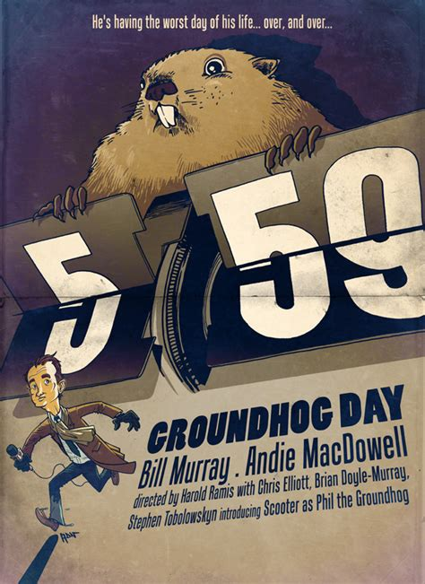 groundhog day japanese groundhog day on behance