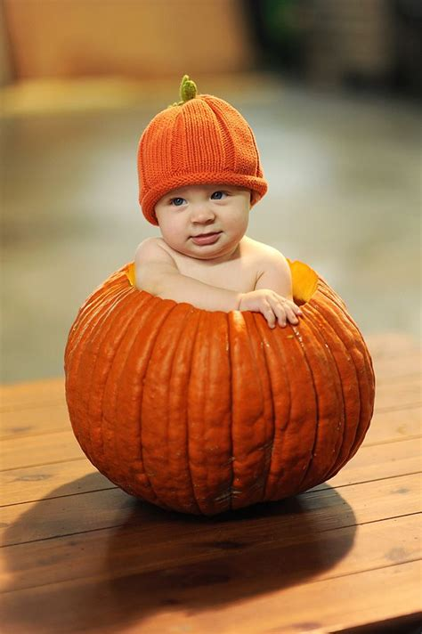 baby pumpkin pumpkin baby child