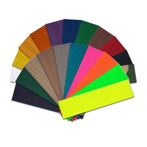 martial arts belt colors martial arts rank belt solid color