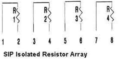 resistor diode array reliable electronics manufacturing