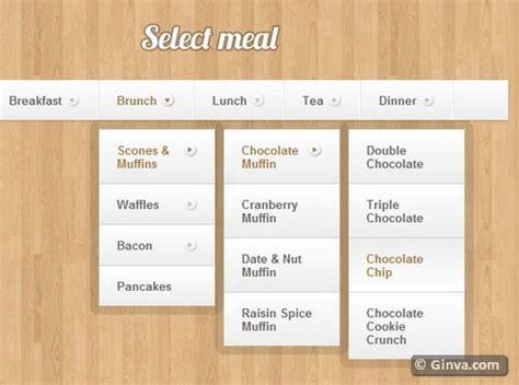 20 useful vertical and horizontal css3 menu tutorials ginva