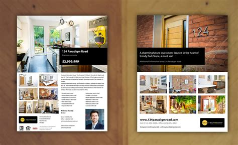 Real Estate Feature Sheet Template by Feature Sheet Template Real Estate Okl Mindsprout Co