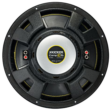 Speaker Subwoofer Kicker kicker cwd15 car audio compc subwoofer dual 4 ohm 15 quot sub