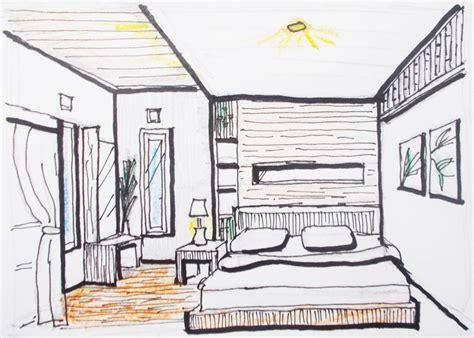 desain interior ipa atau ips desain interior ruang tamu satu titik lenyap desain