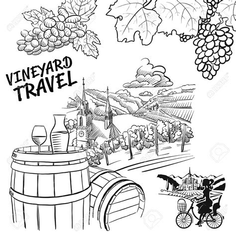 beach coloring pages your personal guide to marthas vineyard vineyard drawing at getdrawings com free for personal